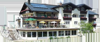 Hotel Ausschnitt im Sommer